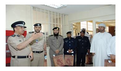 وفود مجلس التعاون الخليجي الشقيقة زارت قطاع المؤسسات الإصلاحية وتنفيذ الأحكام