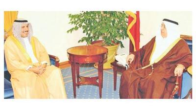 محمد آل خليفة: رؤية الأمير ستعزز الشراكة الخليجية الأمريكية
