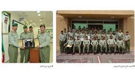 تخريج ضباط الصف الاختصاص في الحرس الوطني