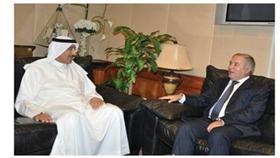 وزير الأشغال التقى السفير الطاجيكي