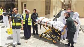 اسعاف 5 حالات لنساء حوامل في إخلاء وهمي بمستشفى الولادة