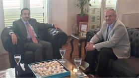 السفير البدر ومدير وكالة الأنباء الألبانية