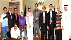 الشيخ مبارك الدعيج فيمكتب كونا بالقاهرة