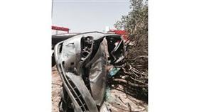 مركبتان «احترقتا» أمام منزل في المنقف.. والخسائر مادية