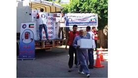 دفعة مساعدات كويتية للمتضررين اللبنانيين من الأزمة السورية