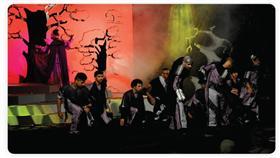 «شجرة العجائب».. لوحات غنائية جميلة وتوظيف مثالي للسينوغرافيا