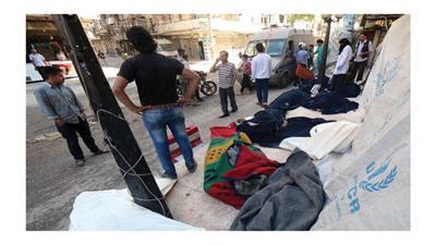 براميل النظام المتفجرة تقضي على 71 مدنياً في حلب