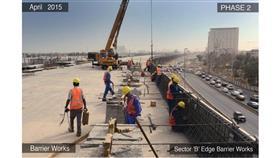 الأشغال: %58 نسبة الإنجاز في مشروع تطوير شارع جمال عبدالناصر