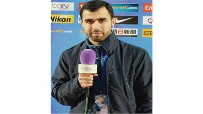 جهود متواصلة من علي أحمد مراسل «بي ان سبورت» بالكويت