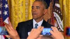 فيديو - أوباما يطرد رجلاً: أنت في بيتي