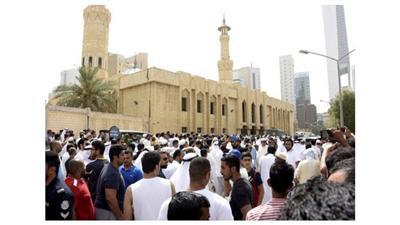 بيان جامع الامام الصادق: الحادث الإجرامي لن يفت في عضد الكويتيين وقدوم صاحب السمو إلى موقع الحادث خفف اللوعة والأسى