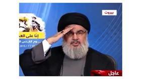 فيديو - حسن نصرالله يرفع «شارة التحية» لأمير الكويت لإفشال سموه فتنة التفجير