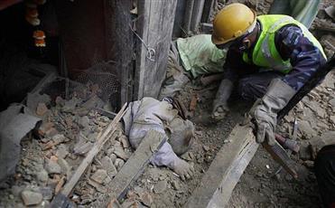5 قتلى على الاقل في الزلزال في شمال شرق الهند