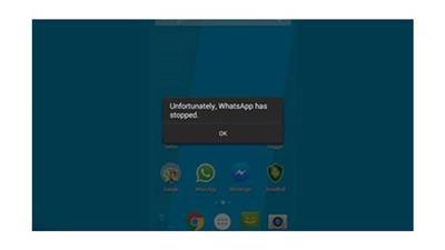 رسالة تتسبب في انهيار تطبيق «واتس آب»
