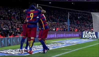 برشلونة يكرم وفادة ضيفه اتلتيك بلباو بـ «نصف درزن»