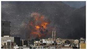 اليمن.. التحالف يقصف مواقع الميليشيات في صنعاء