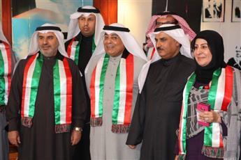وزارة التربية تحتفل برفع العلم للمشاركة في الاعياد الوطنية