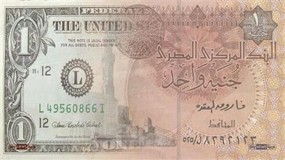 الجنيه المصري مقابل الدولار