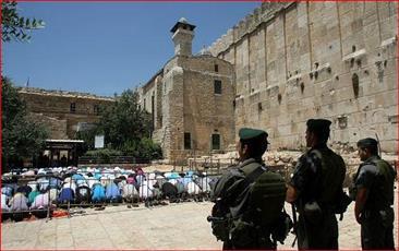 الاحتلال الإسرائيلي يمنع رفع الآذان في محاولة لـ«تهويد» الحرم الإبراهيمي