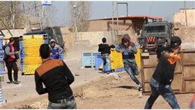 بالصور - شهيد وعشرات الجرحى بالضفة الغربية خلال مواجهات مع الاحتلال الإسرائيلي