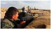 مقاتلون أكراد في كوباني