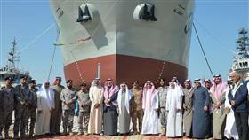 الكويت تتسلم سفينتين عسكريتين بصناعة سعودية 100%