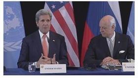كيري: وقف لاطلاق النار في سوريا يبدأ خلال أسبوع