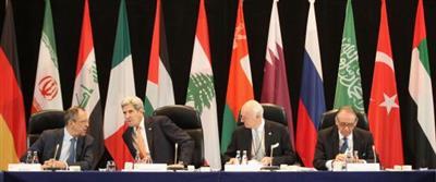 القوى الكبرى توافق على وقف العمليات العسكرية في سورية وإرسال مساعدات إنسانية