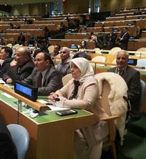 الوزيرة الصبيح: الكويت حريصة على تنفيذ الأهداف الإنمائية المستدامة والقضاء على الفقر