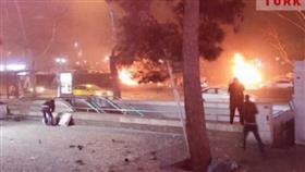 بالفيديو - 33 قتيلا و75 جريحا في انفجار بوسط أنقرة