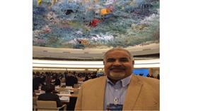 الأمين العام للمركز الخليجي الاورربي لحقوق الانسان فيصل فولاذ