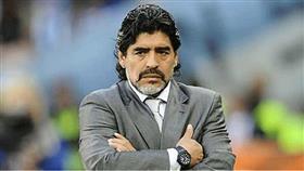 الأرجنتيني ديجو أرماندو مارادونا
