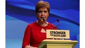 رئيسة الوزراء الوزراء الاسكتلندية نيكولا سترجون