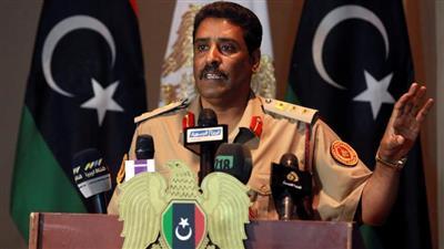 المتحدث الرسمي باسم الجيش الليبي أحمد المسماري