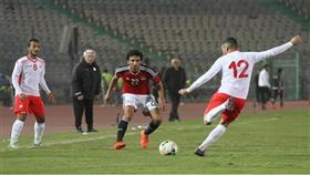 مصر تفوز على تونس ودياً في الوقت القاتل