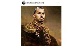 إبراهيموفيتش عبر انستغرام: ملك السويد السابع عشر