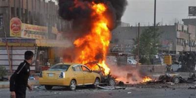 مصرع 2 وإصابة 5 اثر انفجار سيارة مفخخة جنوبي بغداد