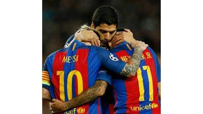 ثلاثية «MSN» في بلباو تعبر ببرشلونة لربع نهائي الكأس