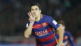 سواريز يسجل هدفه الـ100 مع برشلونة