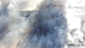 بالفيديو والصور - أمغرة تشتعل.. وحريق في التربية
