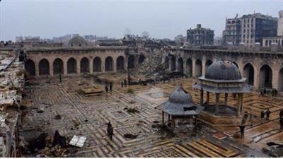 اليونسكو: 90 % من البلدة القديمة في حلب دمرت