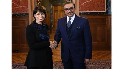 رئيسة سويسرا تثمن العلاقات مع دولة الكويت