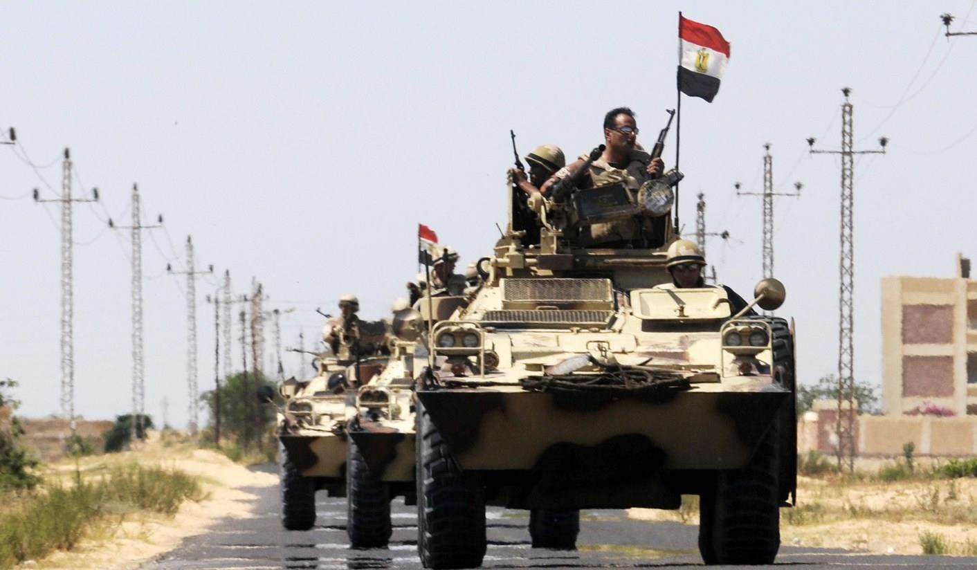 الجيش المصري: القضاء على جميع العناصر الإرهابية المشاركة بحادث الواحات
