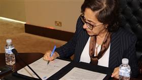 بالصور - الأمانة العامة للتخطيط توقع مذكرة تفاهم مع الجامعة الامريكية في بيروت