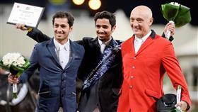 الفارس الحساوي يحرز المركز الأول في بطولة الريان الدولية لقفز الحواجز