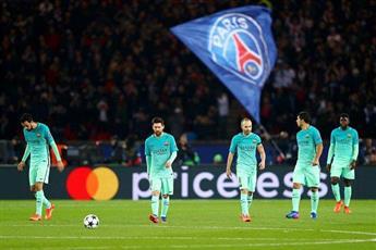 أمراء باريس يصعقون برشلونة بالأربعة
