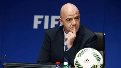 رئيس الاتحاد الدولي لكرة القدم (فيفا) جياني انفانتينو