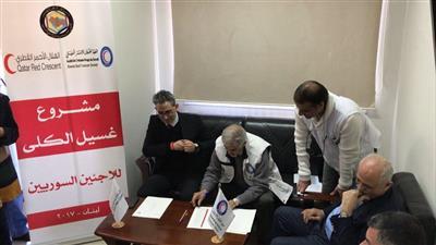 مشروع كويتي - قطري لرعاية الأطفال السوريين الخدج