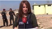 الإعلامية العراقية شفاء كردي التي قتلت أثناء تغطيتها استعادة أيمن الموصل