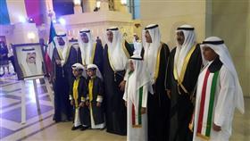 سفير دولة الكويت لدى السنغال صالح علي الصقعبي خلال حفل السفارة بالاعياد الوطنية